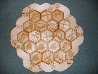 Settlers of Catan Puzzle